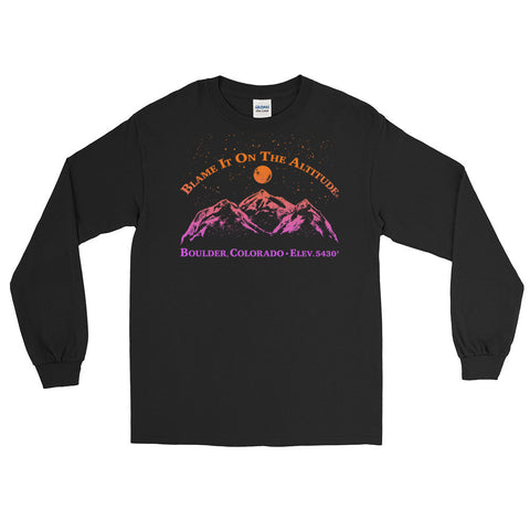 BOULDER, CO 5430' Long Sleeve BIOTA T Shirt