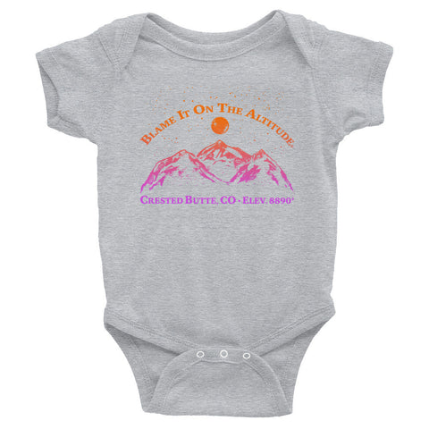 CRESTED BUTTE, CO 8909' Soooo Cute BIOTA Onesie