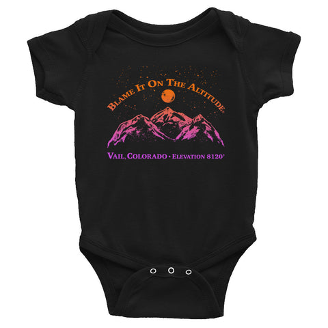 VAIL, CO 8120' Soooo Cute BIOTA Onesie