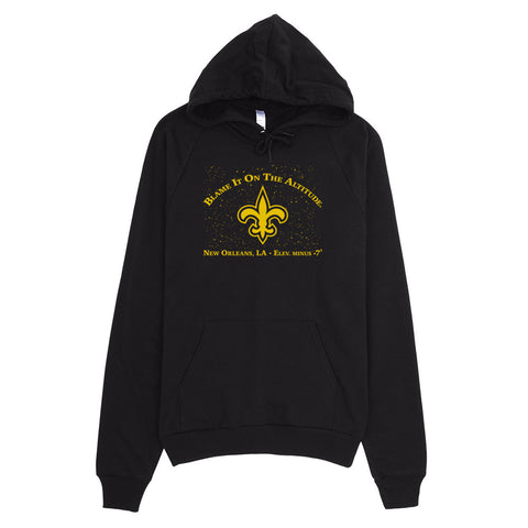 "New Orleans, LA ""Blame It On The Altitude"" (LOW) Elev. -7' Hoodie"