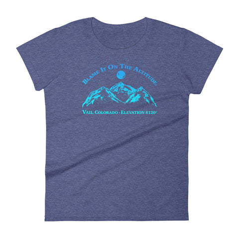 VAIL, CO 8120' Ladies' BIOTA T Shirt