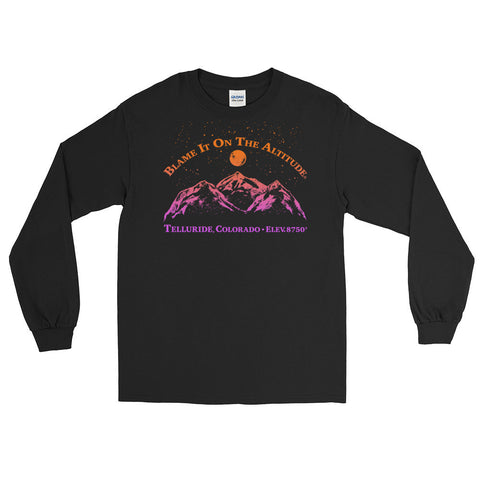 TELLURIDE, CO 8750' Long Sleeve BIOTA T Shirt