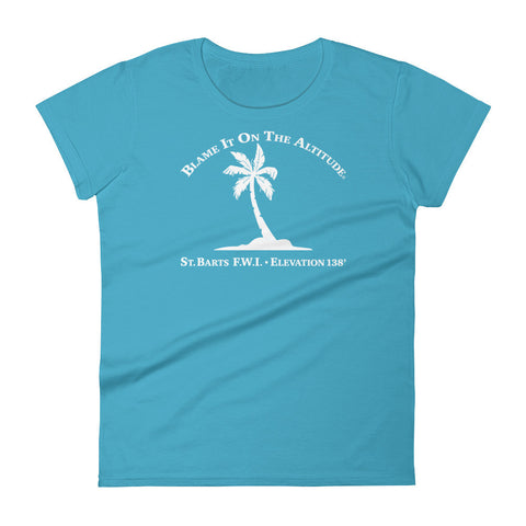 St. BARTS F.W.I. 138' Ladies' BIOTA T Shirt