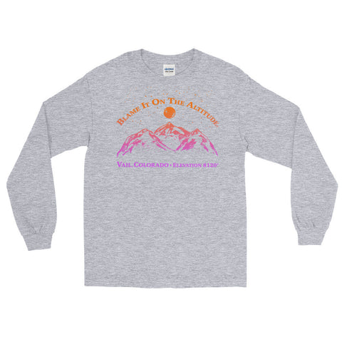 VAIL, CO 8120' Long Sleeve BIOTA T Shirt