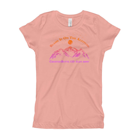CRESTED BUTTE, CO 8909' Girls' Stylish BIOTA T