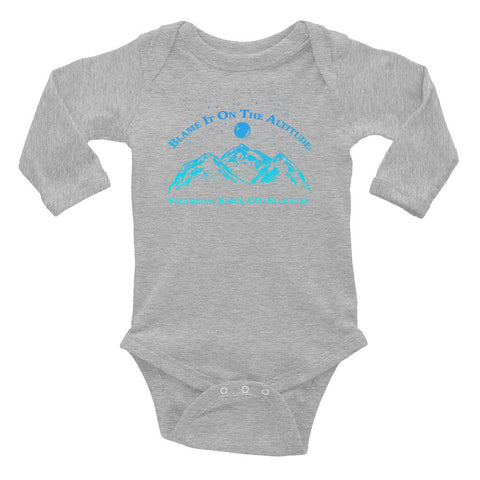 STEAMBOAT SPRINGS, CO 6732' Soooo Cute LS BIOTA Onesie