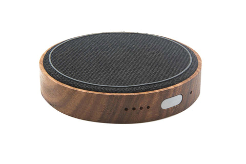 Kensington Pad - iPhone/QI Wireless & Portable Charger, (Walnut + Jet Black)