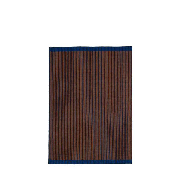 LOOP RUG #02 blue brown blue