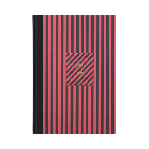 Note Book Stripes blue/red