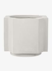 FUNKI POT Large Plaster White