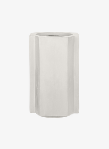 FUNKI POT Small Plaster White