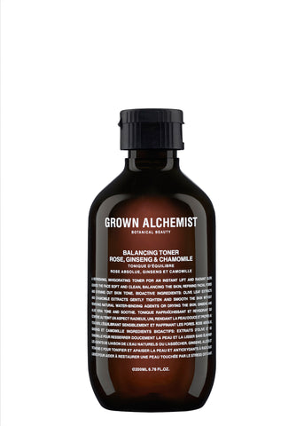 Packshot of 200 ML Balancing Toner by Grown Alchemist