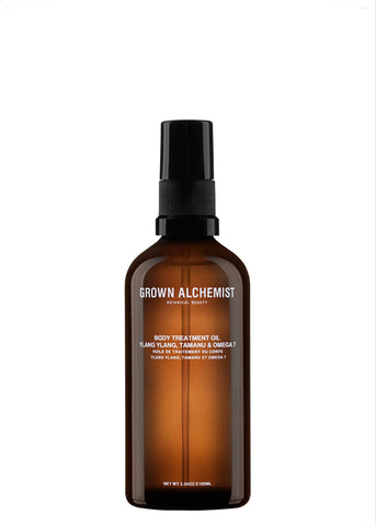 Packshot of Body Treatment Oil by Grown Alchemist.