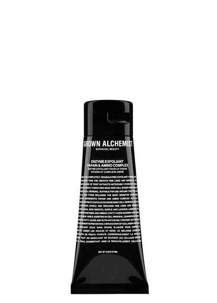 Packshot of Enzyme Exfoliant by Grown Alchemist in 75 ML.