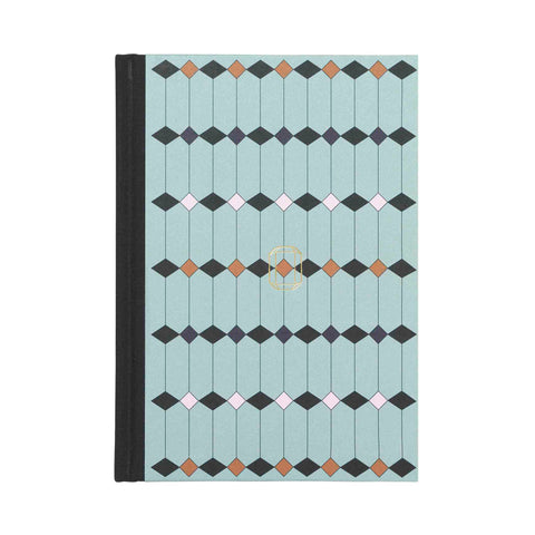 Note Book Jewel Print light green