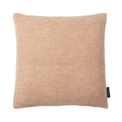 Pique cushion pearl peach