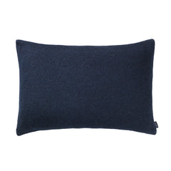 Pique cushion blue