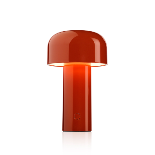 Packshot of Bellhop Lamp in the color red