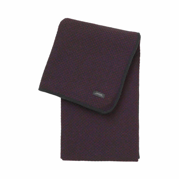 sunday throw diamond Bordeaux Black