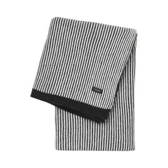 sunday throw striped Black White