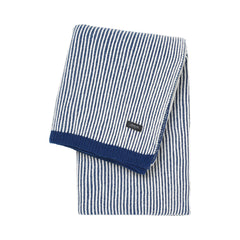 sunday throw striped Blue White