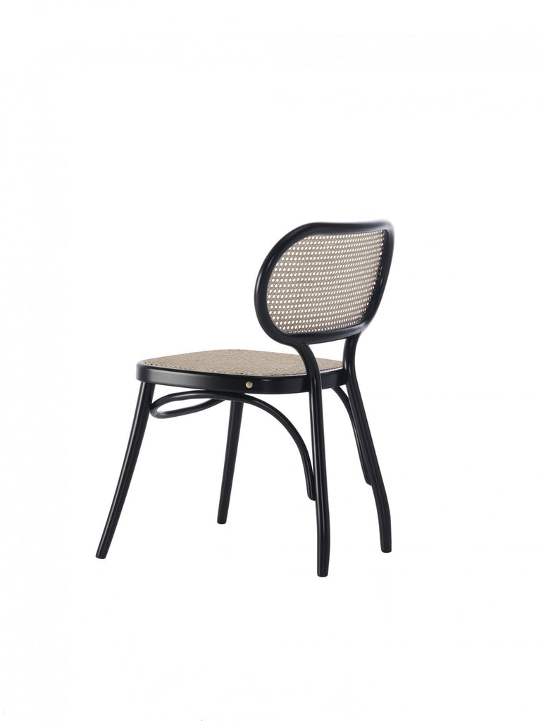 Packshot of Dining chair by Gebrüder Thonet Vienna, designed by Nigel Coates.