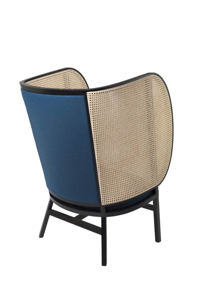 Hideout chair by Gebrüder Thonet Vienna, designed by Front. Seen from behind