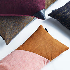 Closeup of Little architect cushions.