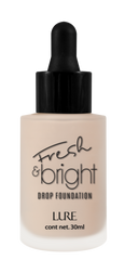 Fresh and bright drop foundation de Lure
