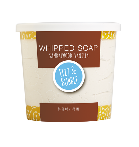 Whipped Soap- Fizz and Bubble