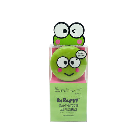 KEROPPI - MACARON LIP BALM WITH VITAMIN E -  GREEN APPLE A DAY