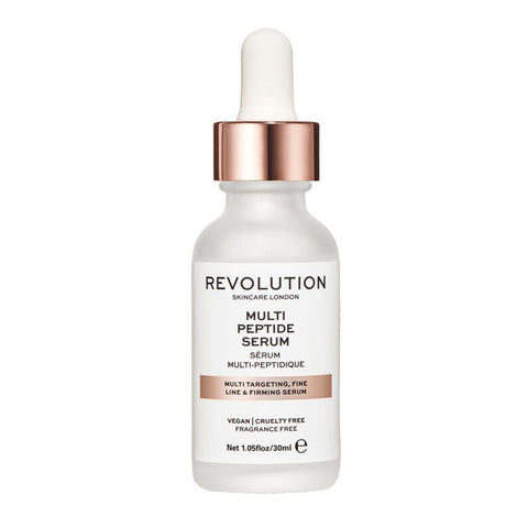 MULTI TARGETING AND FIRMING SERUM MULTI PEPTIDE SERUM REVOLUTION SKINCARE