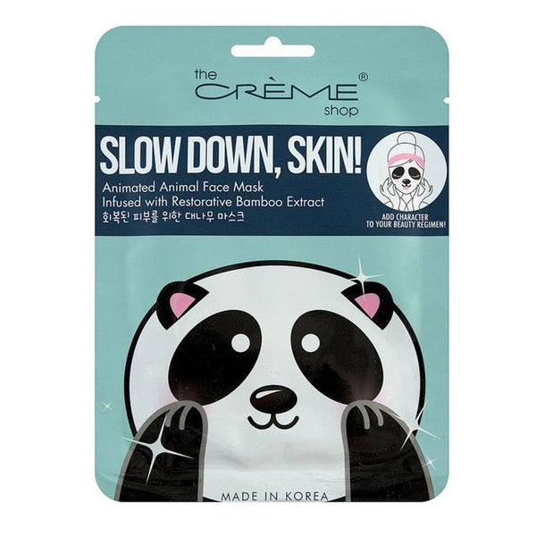 Slow Down, Skin! Panda Face Mask