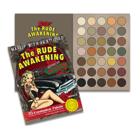 The Rude Awakening - 35 EYESHADOW PALETTE