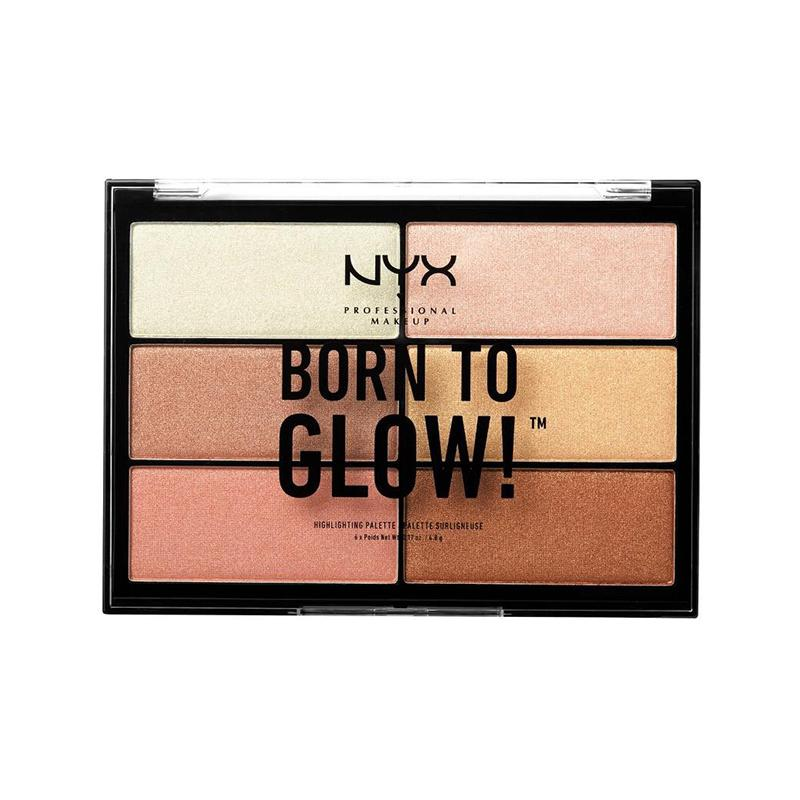 BORN TO GLOW HIGHLIGHTING PALETTE - NYX PROFESSIONAL MAKEUP