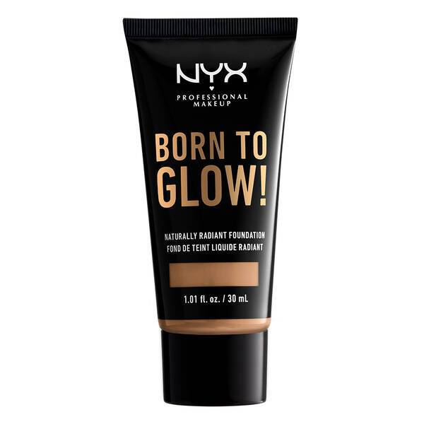 BORN TO GLOW NATURALLY RADIANT FOUNDATION CAMEL - NYX PROFESSIONAL MAKEUP