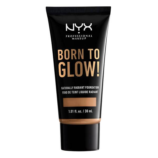 BORN TO GLOW NATURALLY RADIANT FOUNDATION GOLDEN HONEY - NYX PROFESSIONAL MAKEUP