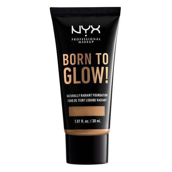 BORN TO GLOW NATURALLY RADIANT FOUNDATION GOLDEN - NYX PROFESSIONAL  MAKEUP