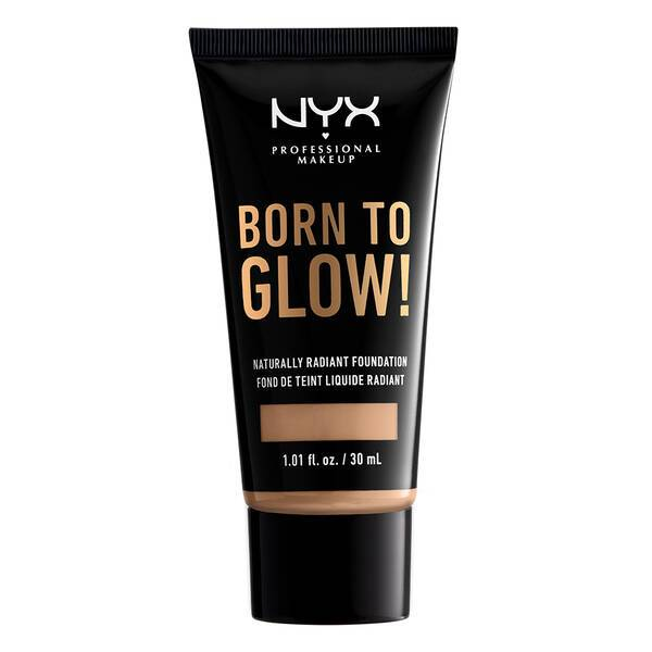 BORN TO GLOW NATURALLY RADIANT FOUNDATION MEDIUM OLIVE - NYX PROFESSIONAL MAKEUP