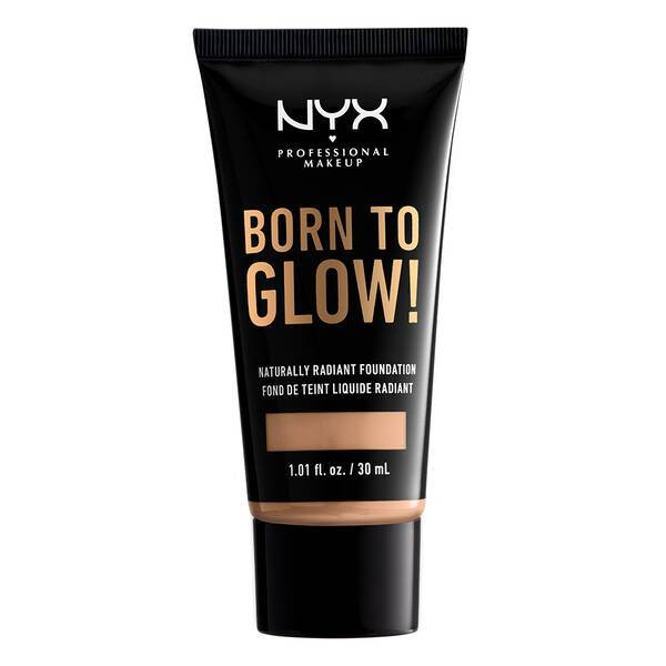 BORN TO GLOW NATURALLY RADIANT FOUNDATION NATURAL - NYX PROFESSIONAL MAKEUP