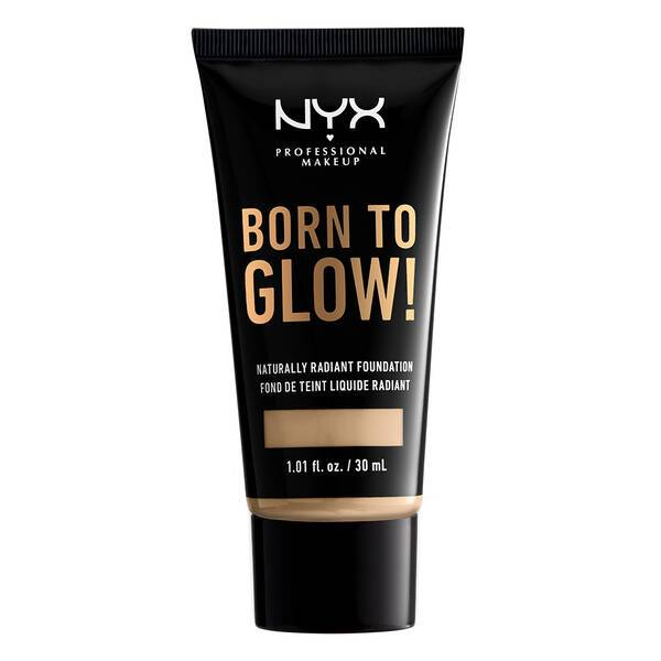 BORN TO GLOW NATURALLY RADIANT FOUNDATION NUDE - NYX PROFESSIONAL MAKEUP
