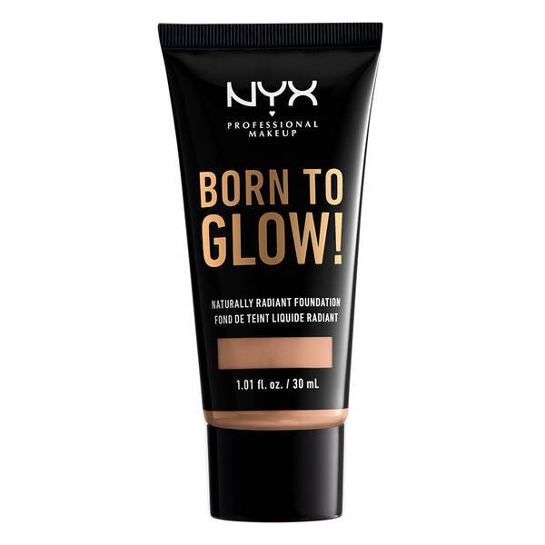 BORN TO GLOW NATURALLY RADIANT FOUNDATION SOFT BEIGE - NYX PROFESSIONAL MAKEUP