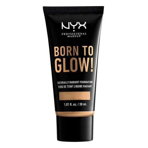 BORN TO GLOW NATURALLY RADIANT FOUNDATION TRUE BEIGE - NYX PROFESSIONAL MAKEUP