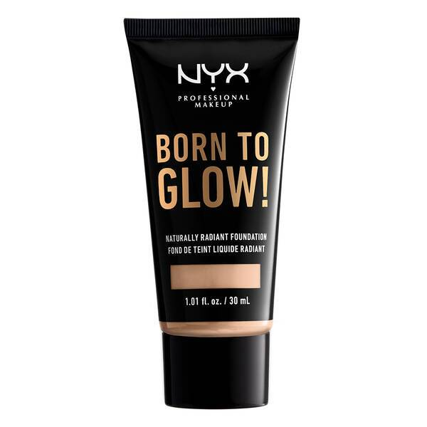 BORN TO GLOW NATURALLY RADIANT FOUNDATION VANILLA - NYX PROFESSIONAL MAKEUP