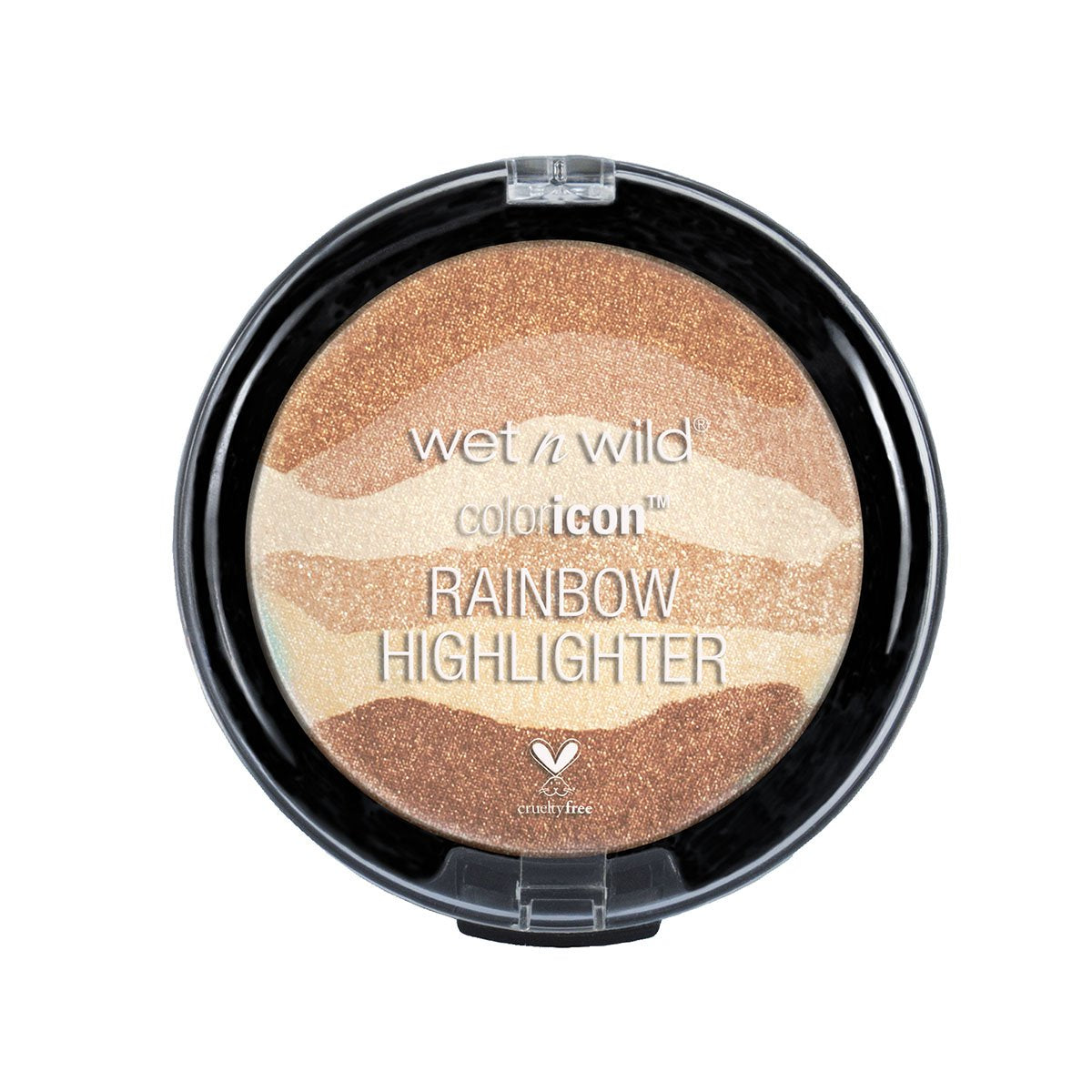COLOR ICON RAINBOW HIGHLIGHTER BRONZE OVER THE RAINBOW - WET N WILD