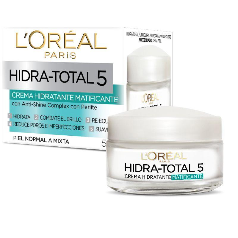 DERMO EXPERTISE HIDRA TOTAL 5 ANTISHINE - LOREAL
