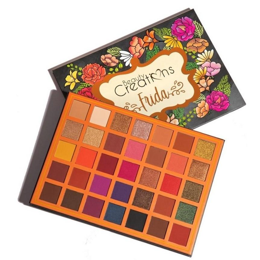 FRIDA 35 COLOR EYESHADOW PALETTE -BEAUTY CREATIONS