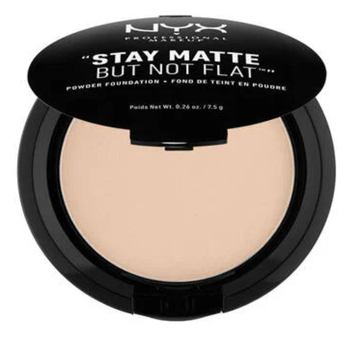 STAY MATTE BUT NOT FLAT POWDER FOUNDATION NUDE - NYX PROFESSIONAL MAKEUP