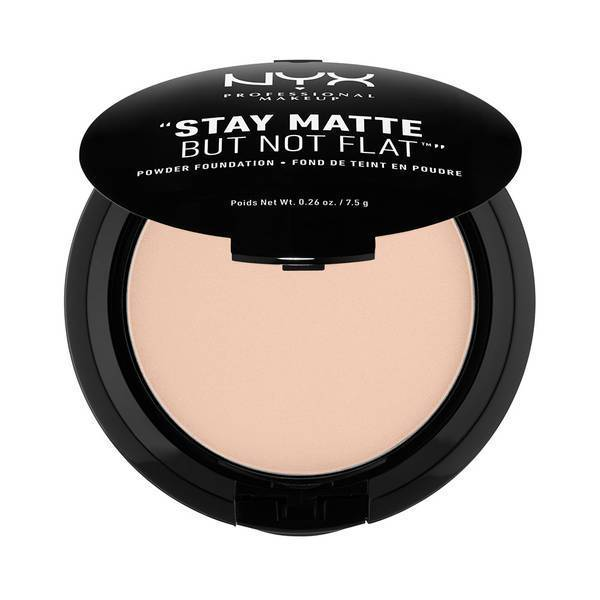 STAY MATTE BUT NOT FLAT POWDER FOUNDATION PORCELAIN - NYX PROFESSIONAL MAKEUP
