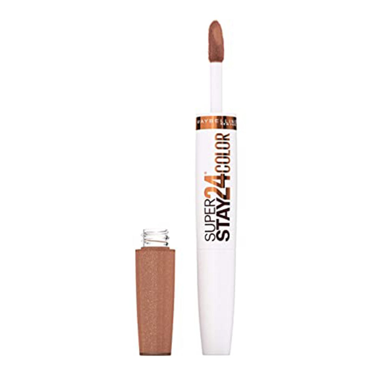 SUPERSTAY 24 2 STEP LIQUID LIPSTICK COFFEE EDITION CHAI ONCE MORE - MAYBELLINE